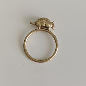 RARE FIND** Madewell vintage armadillo ring.